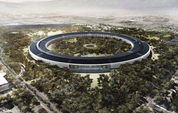 campus de apple por dentro