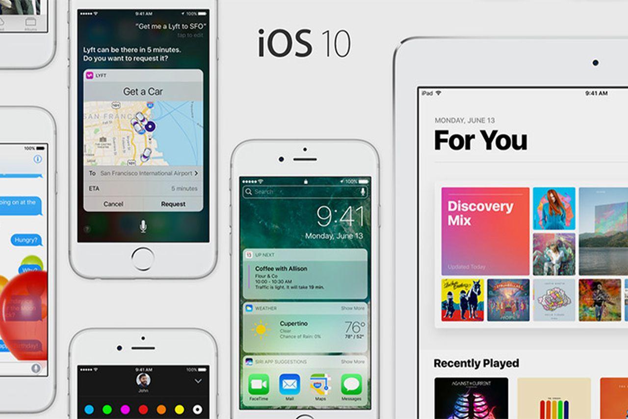 servicio tecnico apple ios10