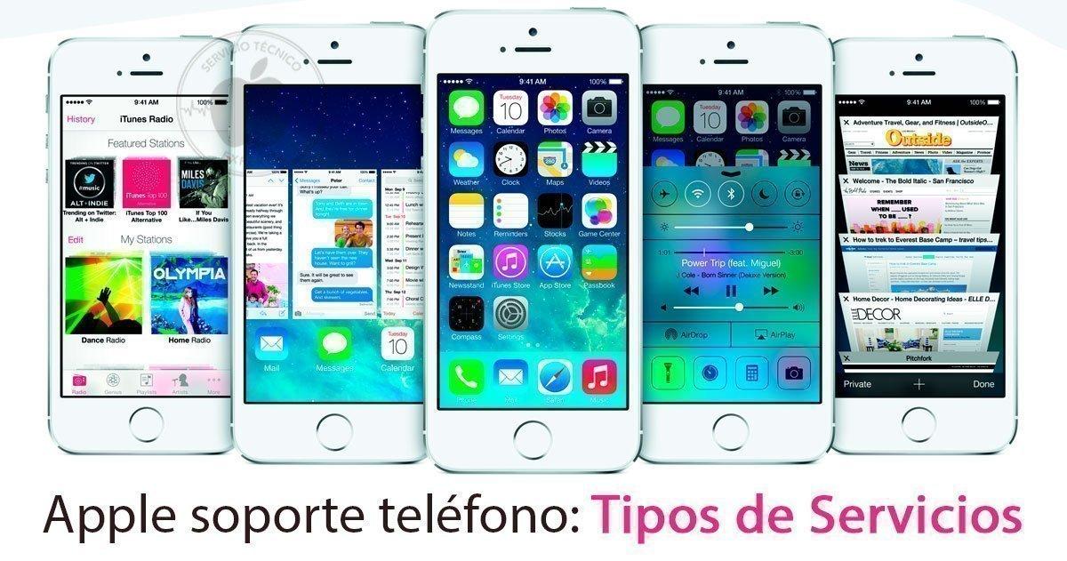 Apple soporte teléfono