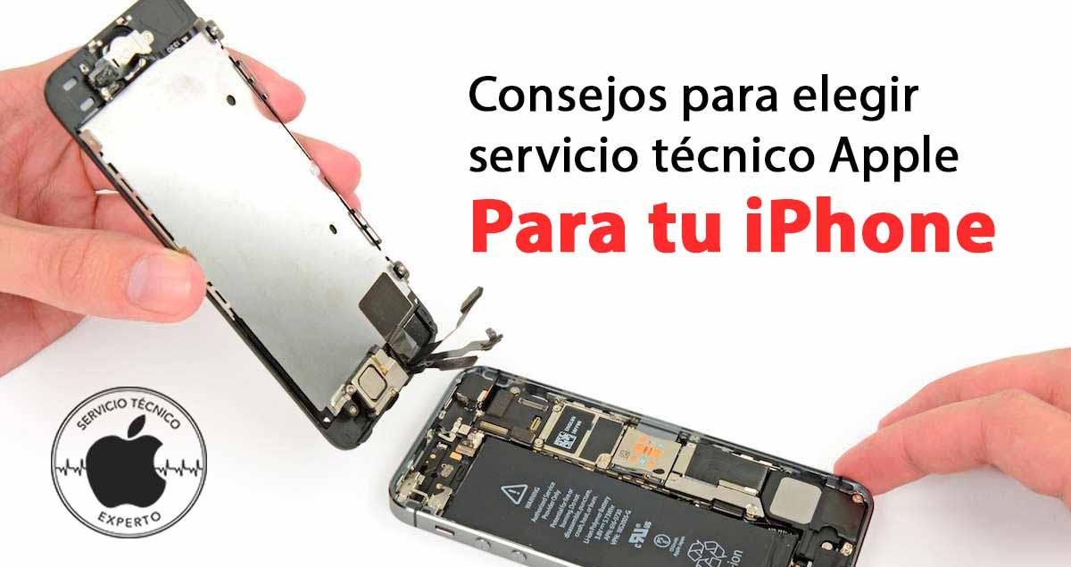 servicio técnico Apple reparación iPhone