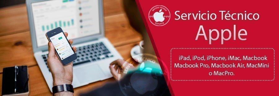 Contratar servicio tecnico apple