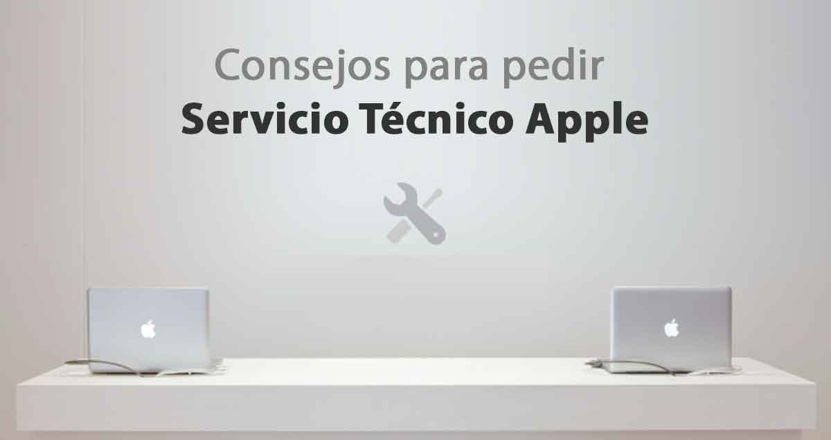 pedir cita servicio tecnico apple