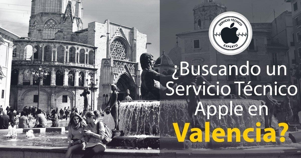 servicio técnico Apple Valencia