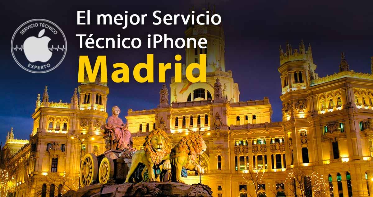 servicio técnico iPhone Madrid