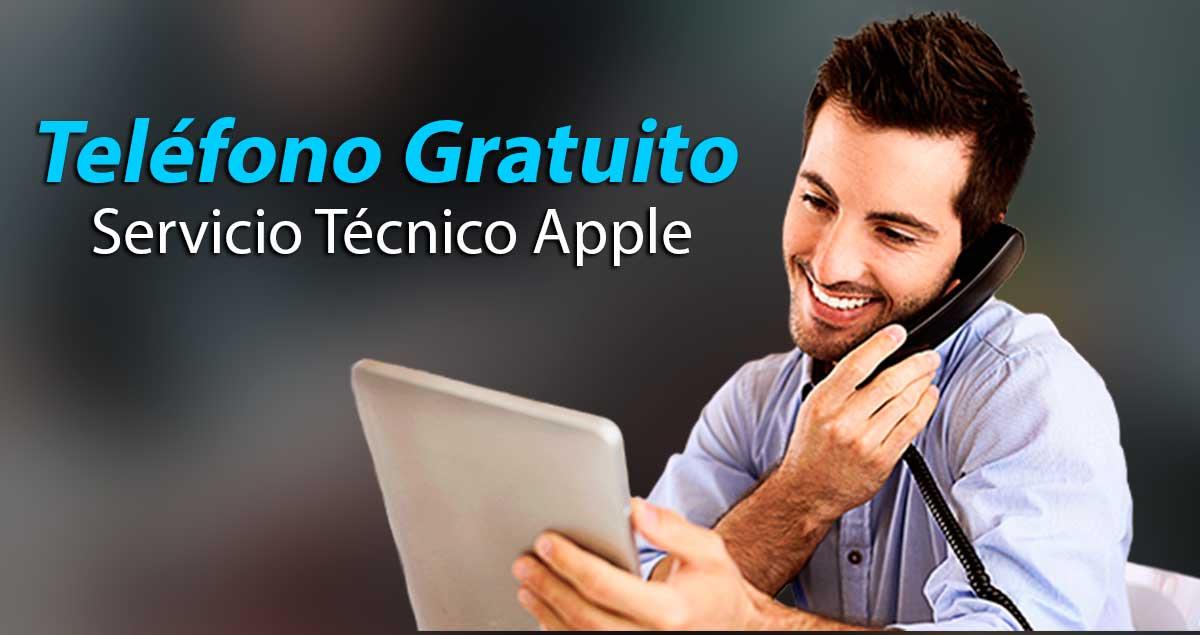 Telefono gratuito servicio tecnico apple