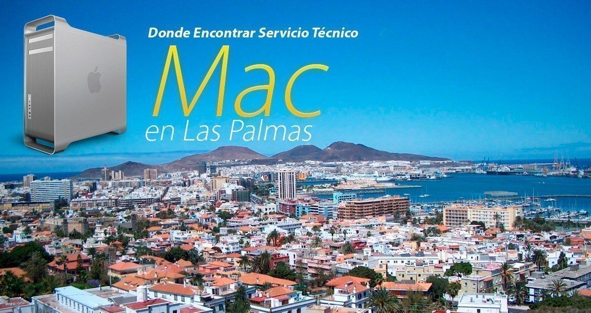 servicio técnico Mac Las Palmas