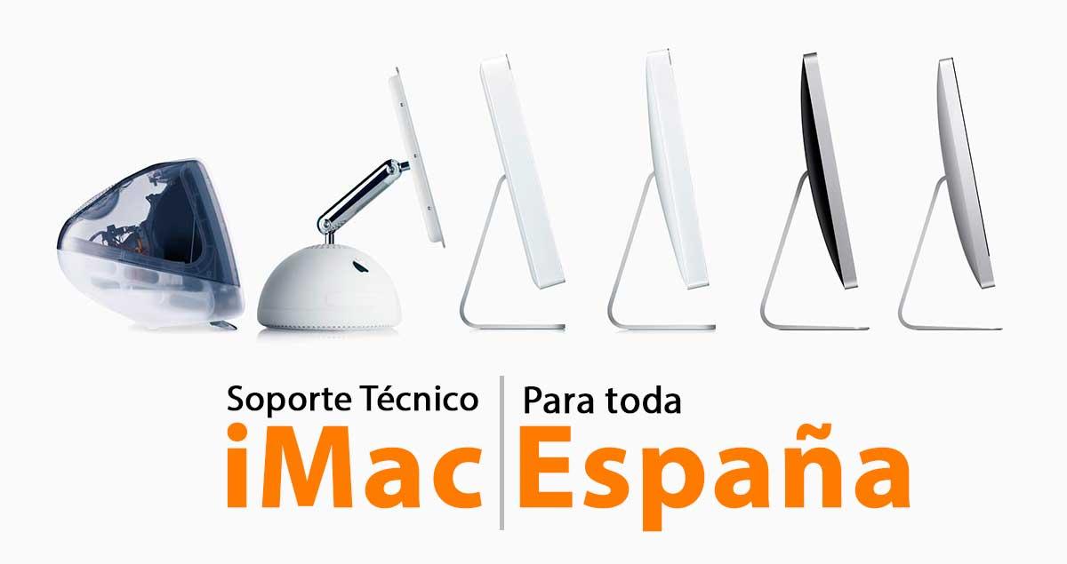 soporte técnico para iMac