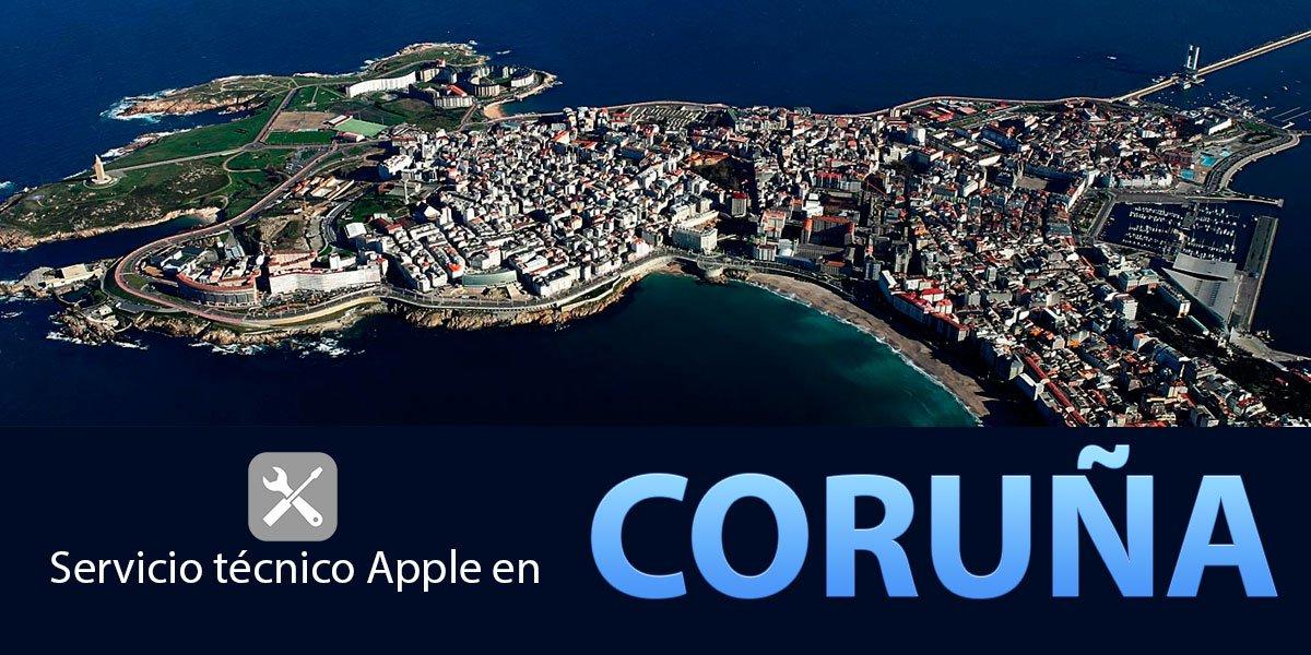 Servicio técnico Apple Coruña