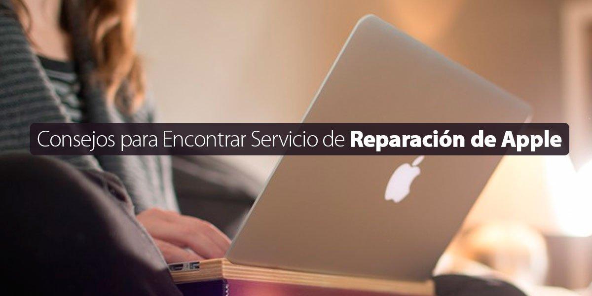 servicio de reparación de Apple