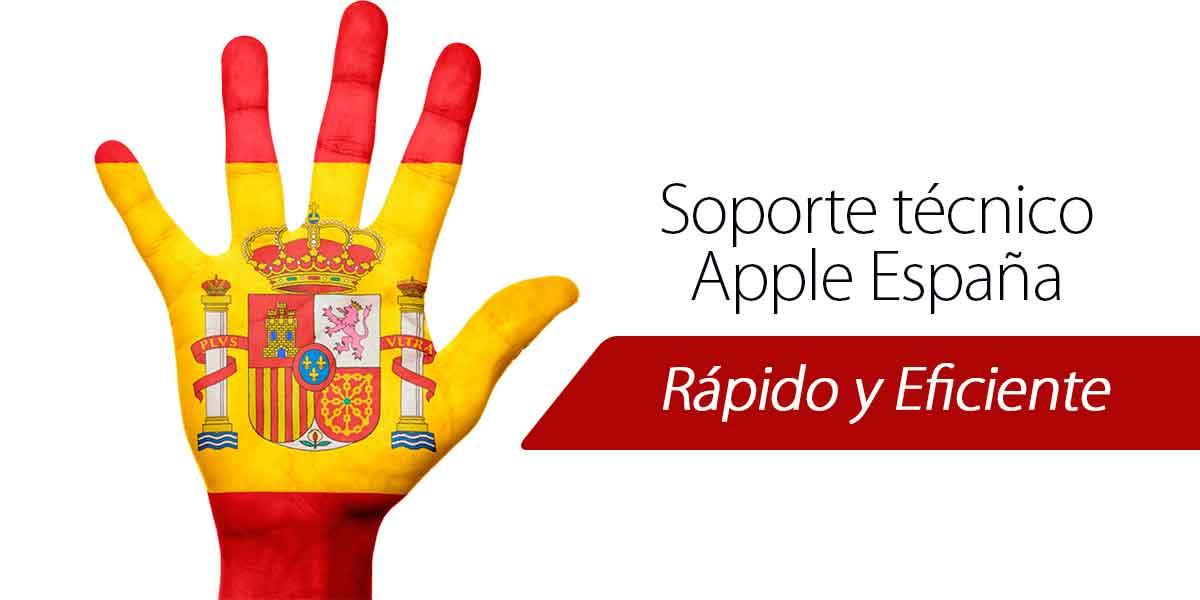 Apple España soporte técnico