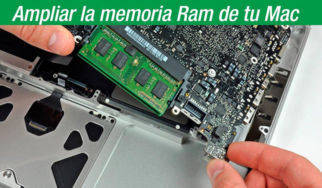 Técnico para ampliar memoria ram para Mac