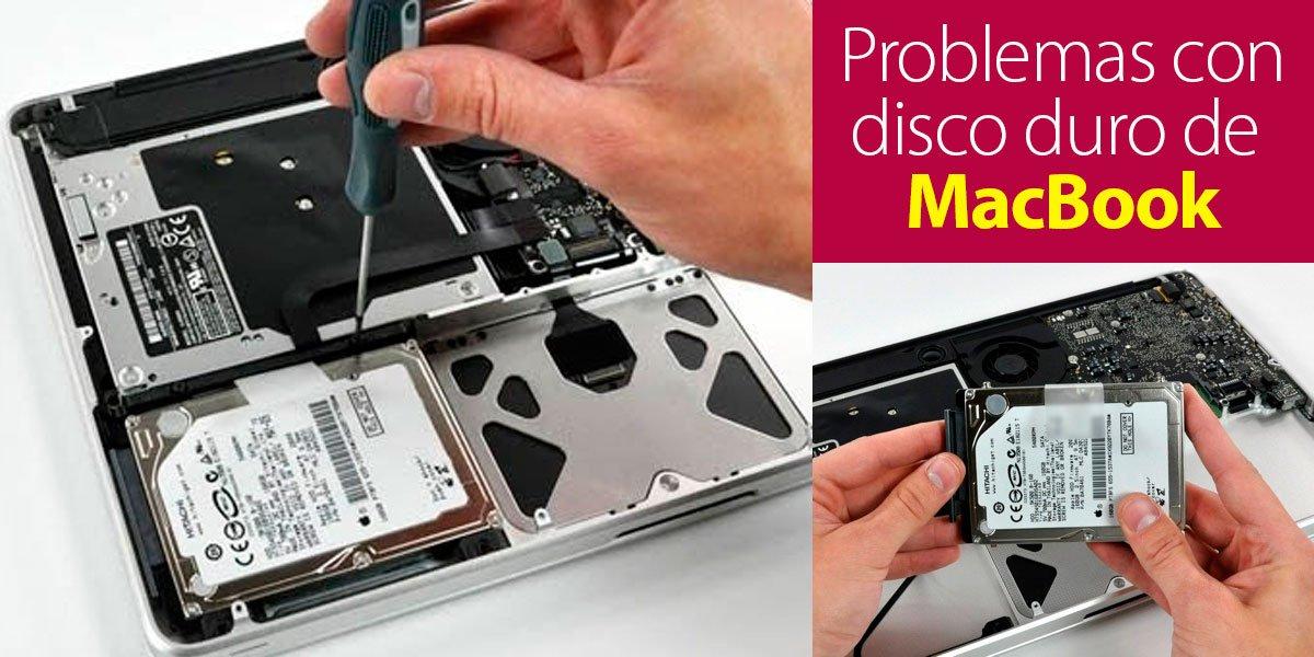 Problemas con disco duro de MacBook