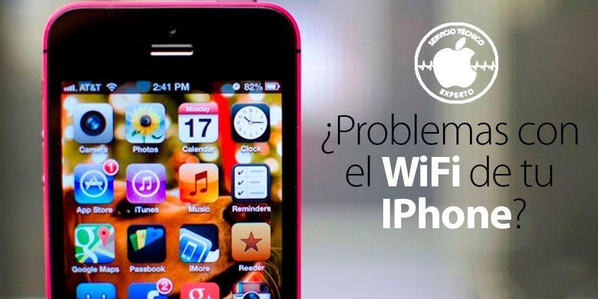 Problemas con el wifi del IPhone